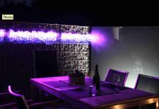 lichtlogistik club rotes kliff sylt goes led. Black Bedroom Furniture Sets. Home Design Ideas
